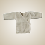 Organic Merino wool baby sweater